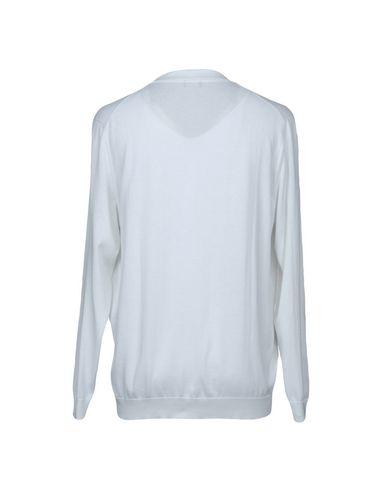 Фото 2 - Мужской свитер DRUMOHR белого цвета