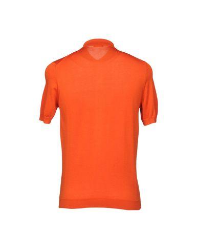 Фото 2 - Мужской свитер DRUMOHR оранжевого цвета