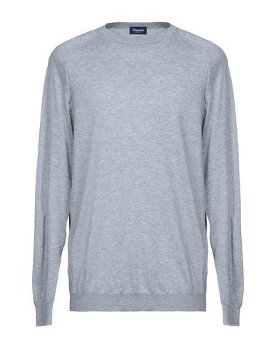 Купить Мужской свитер DRUMOHR серого цвета