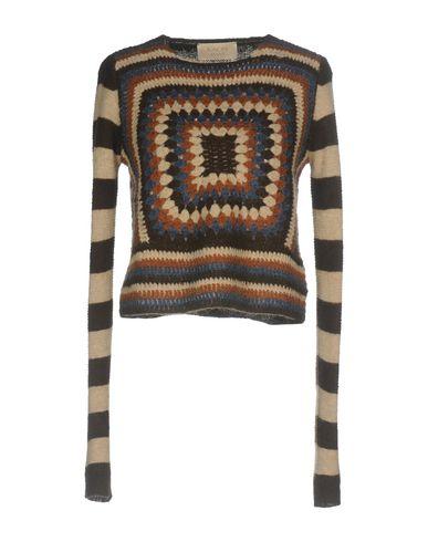 Купить Женский свитер KAOS JEANS темно-коричневого цвета