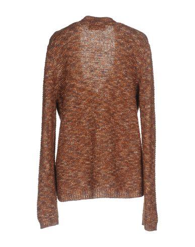 Фото 2 - Женский свитер KAOS JEANS коричневого цвета