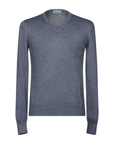 Фото - Мужской свитер GRAN SASSO серого цвета