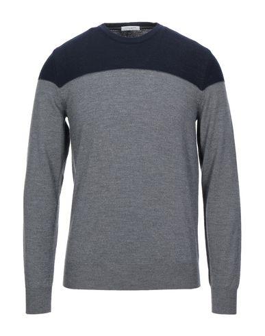 Фото - Мужской свитер PAOLO PECORA серого цвета