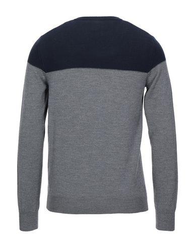 Фото 2 - Мужской свитер PAOLO PECORA серого цвета
