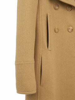 Long manteau croisé