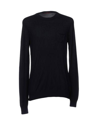 Купить Мужской свитер INDIVIDUAL темно-синего цвета