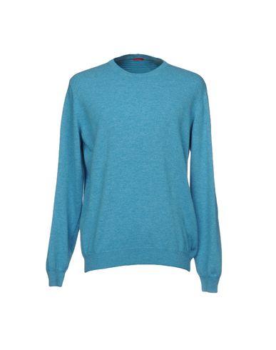Фото - Мужской свитер  лазурного цвета