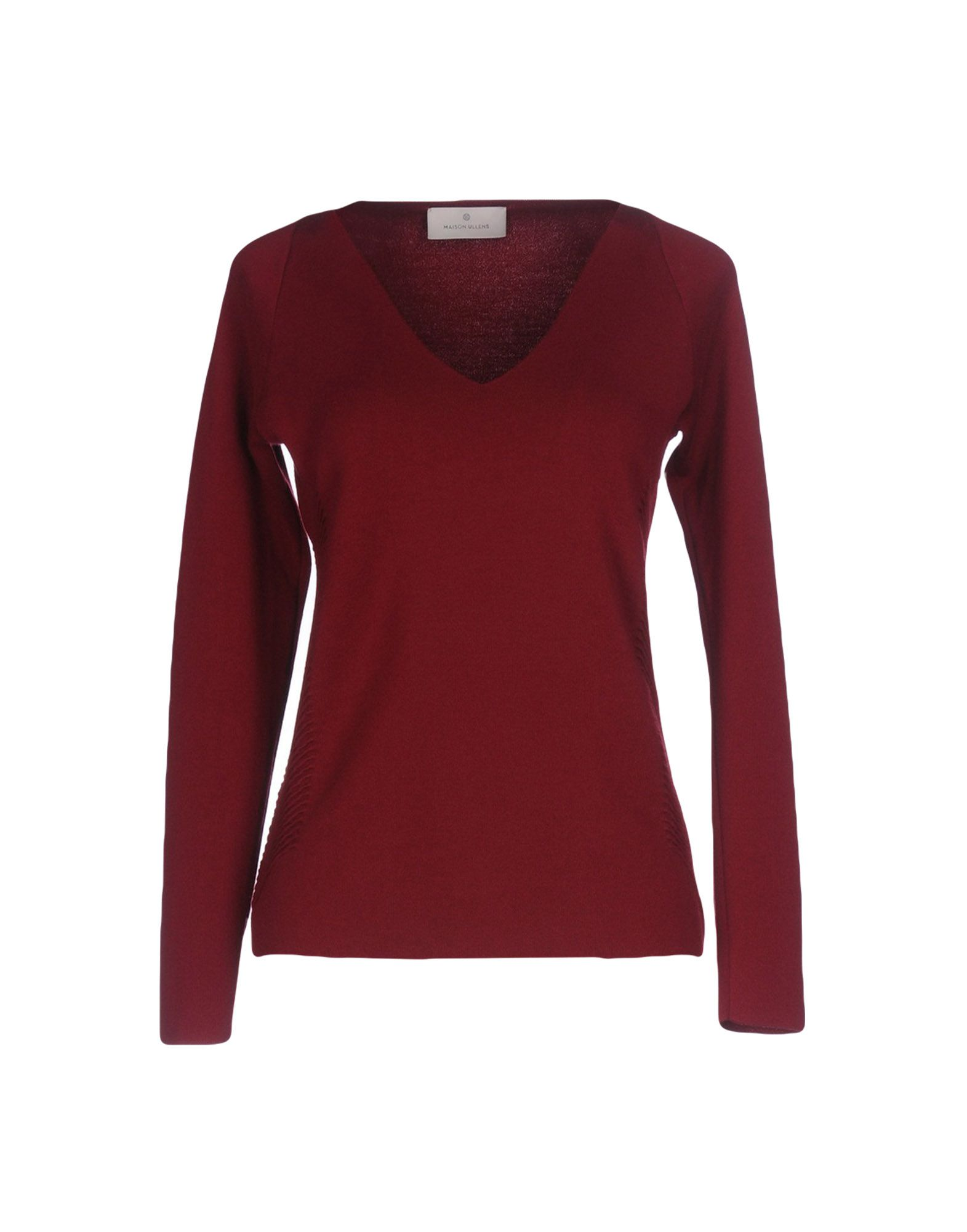 MAISON ULLENS Cashmere Blend in Brick Red