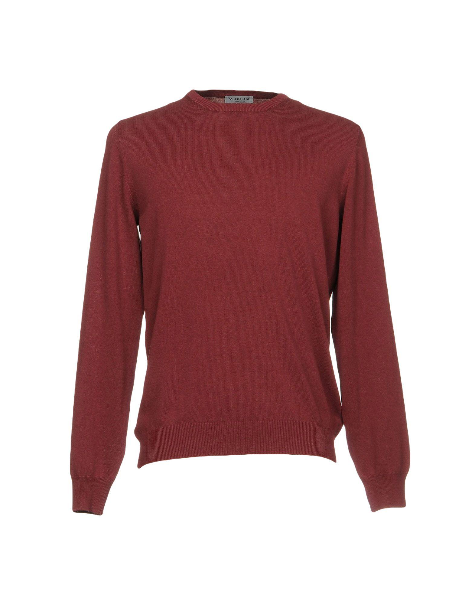 VENGERA Sweater in Maroon