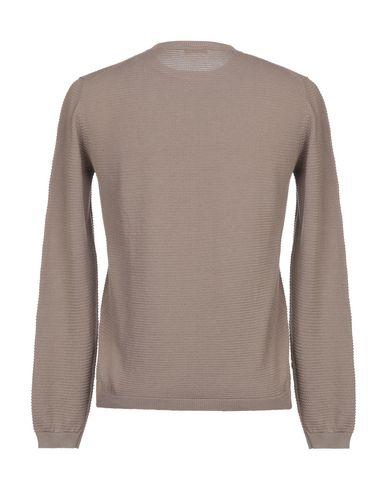 Фото 2 - Мужской свитер  светло-коричневого цвета
