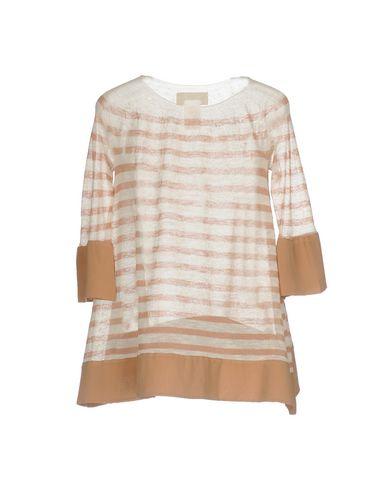 Фото 2 - Женский свитер IVORIES коричневого цвета