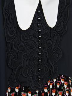 バタフライカラードレス
