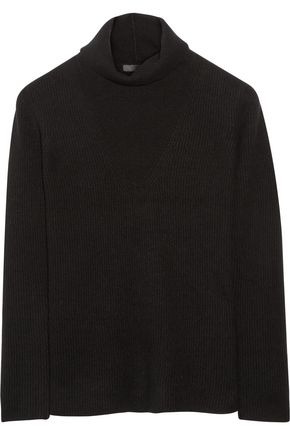 THE ROW Keola ribbed cashmere turtleneck sweater