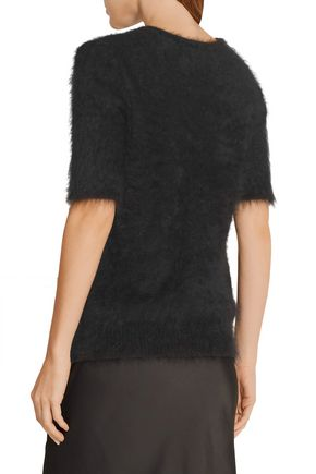 THE ROW Latilde brushed angora-blend sweater