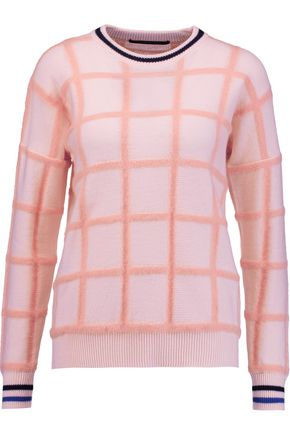 MOTHER OF PEARL Noah wool-jacquard sweater