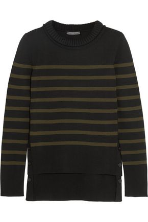 ALEXANDER MCQUEEN Striped merino wool sweater