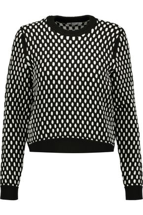 T by ALEXANDER WANG Jacquard-knit sweater