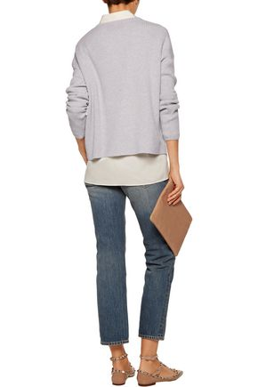 LINE Spencer ribbed cashmere sweater