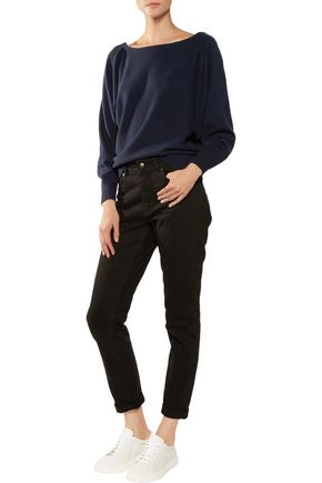 IRIS AND INK Off-the-shoulder cashmere sweater