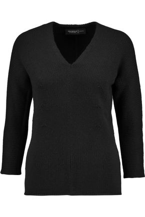 PRINGLE OF SCOTLAND Ribbed cashmere sweater