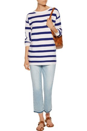 EQUIPMENT Leigh striped cashmere sweater