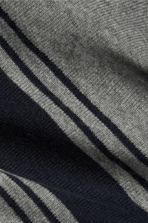 AUTUMN CASHMERE Fringed cashmere poncho