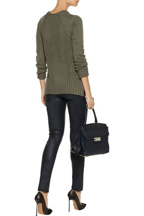 AUTUMN CASHMERE Textured-knit sweater