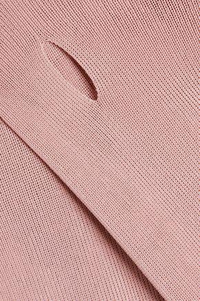 ROKSANDA Maise cutout ribbed-knit sweater
