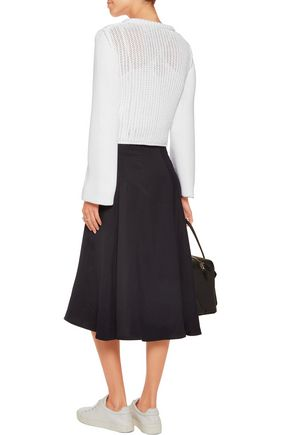 3.1 PHILLIP LIM Open-knit cotton-blend sweater