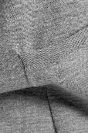 JOSEPH Asymmetric merino wool cardigan