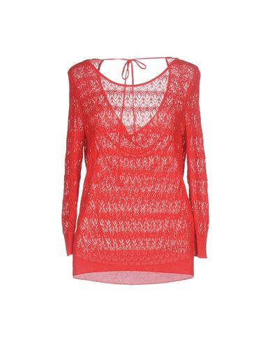 Купить Женский свитер BLUE LES COPAINS красного цвета