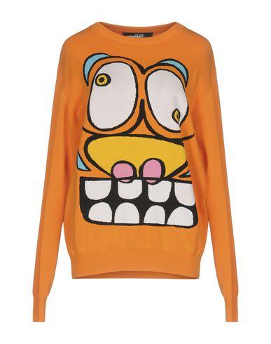 Купить Женский свитер JEREMY SCOTT оранжевого цвета