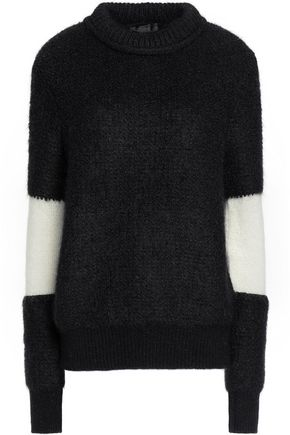 BELSTAFF Two-tone mohair-blend sweater