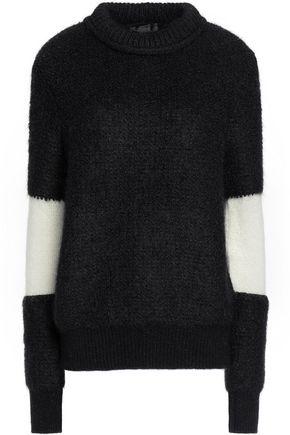 BELSTAFF Two-tone mohair-blend sweater