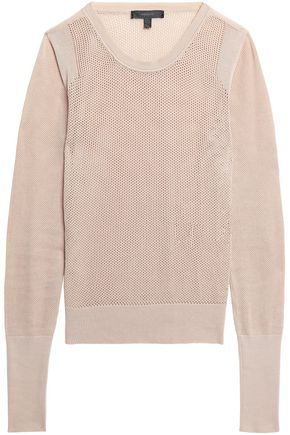 BELSTAFF Open-knit cotton sweater