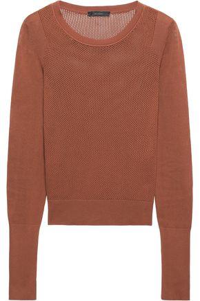 BELSTAFF Open-knit cotton sweater