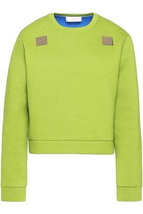 CARVEN Embellished cotton sweatshirt