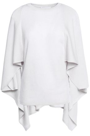 DUFFY Cape-effect cashmere sweater