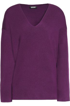 DKNY Silk-blend sweater