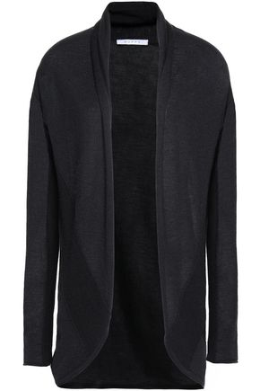 DUFFY Draped cashmere cardigan