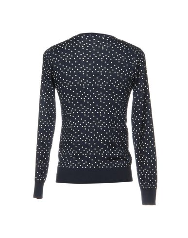 Фото 2 - Мужской свитер BRIAN DALES темно-синего цвета