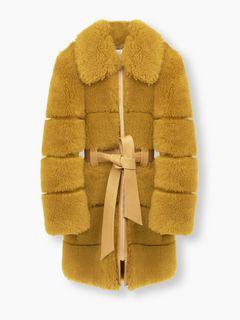 Quilt-effect coat