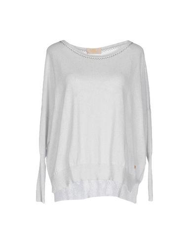 Фото - Женский свитер VDP COLLECTION светло-серого цвета