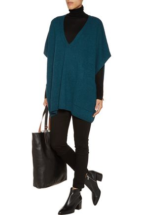 N.PEAL Oversized cashmere sweater