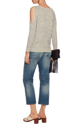 TART Muriel cold-shoulder cotton-blend sweater
