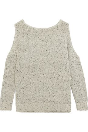 TART Muriel cold-shoulder cotton-blend sweater