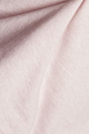 TART Sophia cold-shoulder cotton and cashmere-blend sweater