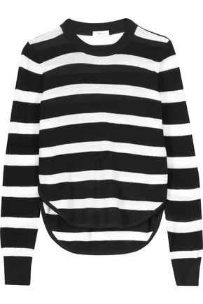 A.L.C. Riley striped cotton sweater