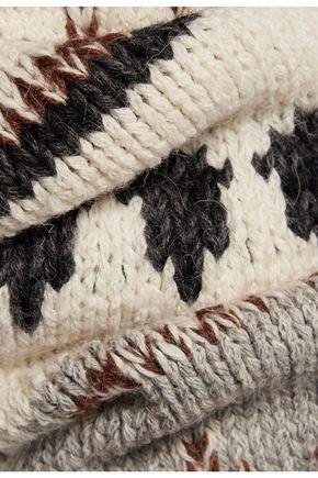 CURRENT/ELLIOTT The Boyfriend intarsia-knit sweater