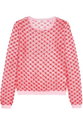 CARVEN Lace-knit sweater